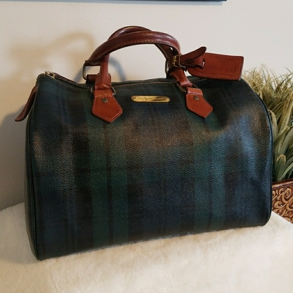 Mint Vintage Ralph Lauren Tartan-Plaid speedy Bag!  M 5a9ebf5f8df47041addcafe4 dcfddaef2d552